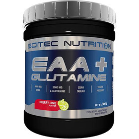 SCITEC EAA+Glutamine Powder 300g Cherry Lime